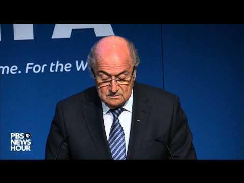 Watch FIFA President Sepp Blatter announce his resignation