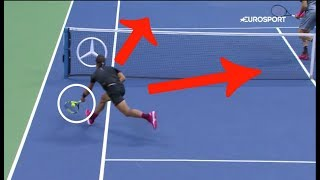 Watch this point if you want to have an idea of the level of Nadal v Del potro