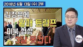 2부 김정은에 완패한 트럼프 미북 협상 3달 못 간다 [세밀한안보] (2018.06.13)