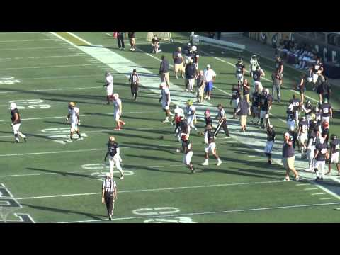 2014 FCS Bowl Blue Film OFF vs FCS Bowl White DEF Scouts Endzone Sideline  2 of 3