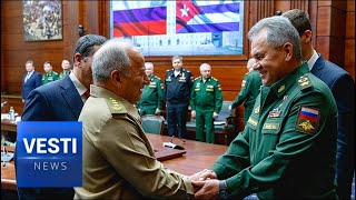 """Moscow and Havana Military Alliance Back On? Shoigu Awards Cuban Minister With """"Order of Friendship"""""""