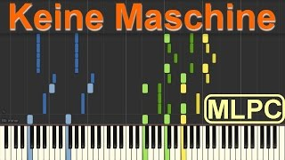 Tim Bendzko - Keine Maschine I Piano Tutorial by MLPC