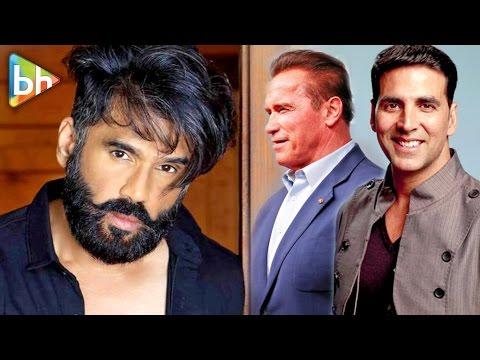 Suniel Shetty's BRILLIANT Rapid Fire On Akshay Kumar | Varun Dhawan | Arnold Schwarzenegger