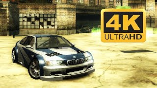Need for Speed Most Wanted ( 2005 ) : Old Games in 4K 2018