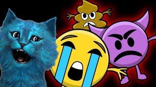 5 НОЧЕЙ С ЭМОДЖИ 1 Cтрашилки Emoji Five Nights игра КОТЁНОК ЛАЙК