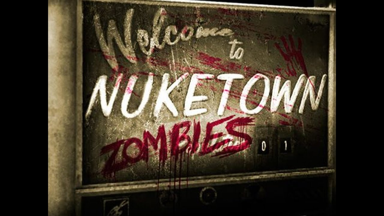 Call Of Duty Black Ops Wallpaper Black Ops Zombies Nuketown Zombies Mod Preview Of What