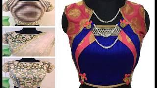 Latest Trendy Blouse Designs In Market - readymade blouse design - designer blouses for party wear