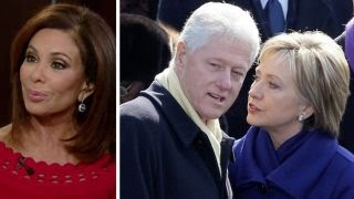 Judge Jeanine: Mainstream media in cahoots with the Clintons. 2016