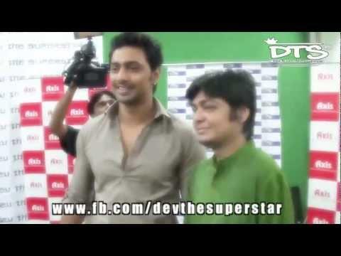 Royal Entry of DEV at Bijaya Doshomi Event of Dev The Superstar