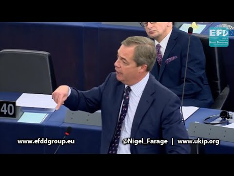 Nigel Farage Lashes out over George Soros collusion with the EU - 14th November 2017