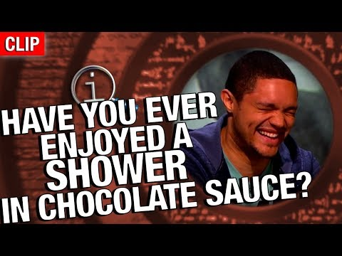 Thumbnail: QI | Have You Ever Enjoyed A Shower In Chocolate Sauce?