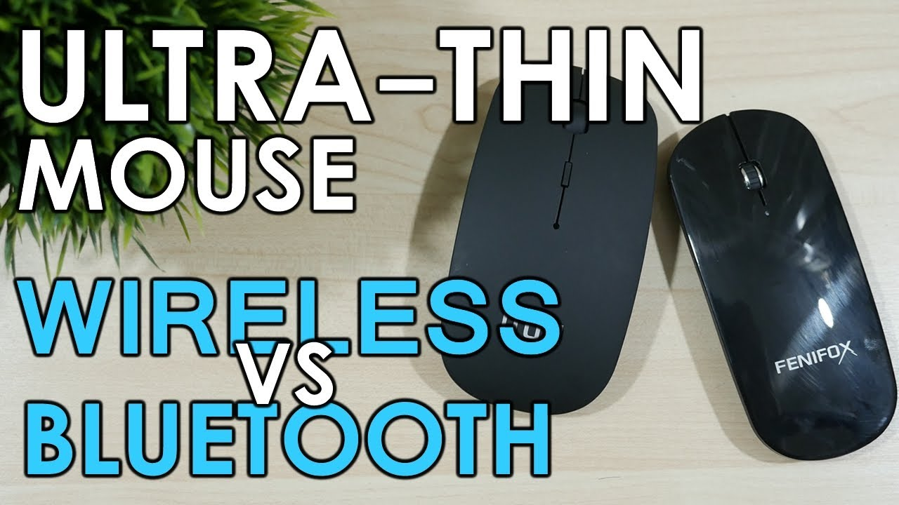Ultra-thin Mouse - Uhuru Wireless vs Fenifox Bluetooth