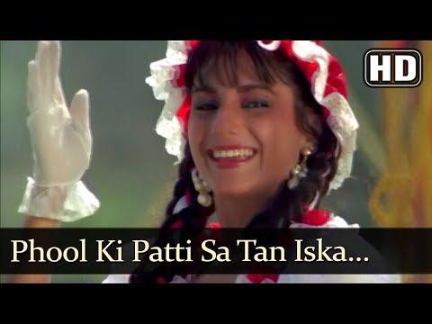 Phool Ki Patti Sa Tan Iska (HD) - Muskurahat Song - Jay Mehta - Revathy - Udit Narayan - Alka Yagnik