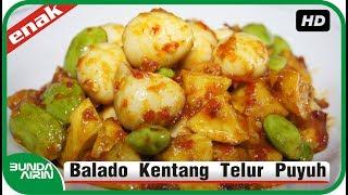 Balado Kentang Telur Puyuh - Resep Masakan Jawa Indonesia Mudah - Bunda Airin