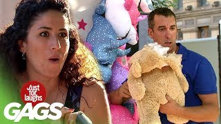 Stuffed Animal Explodes At The Carnival