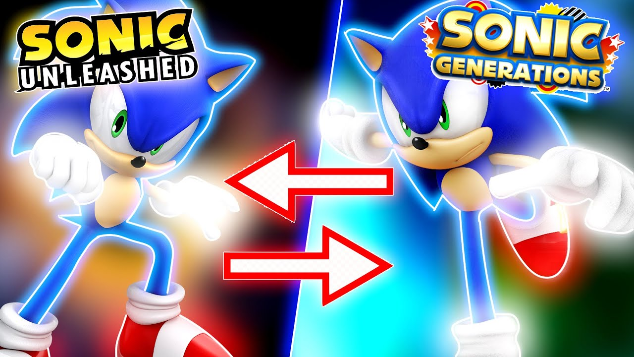 If Sonic Unleashed and Generations Sonic's Switched Places!? | Sonic Mods