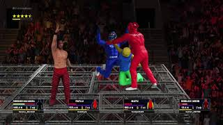 Roblox dies in WWE at the hands of Motu Patlu