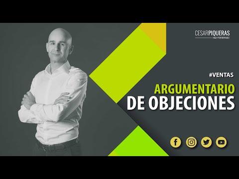 Argumentario de objeciones