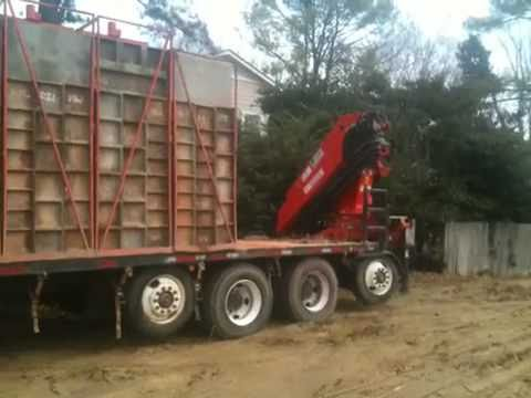 Jl Poured Walls Of Nc Form Truck Youtube