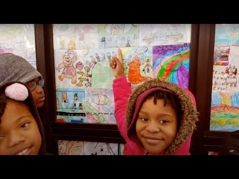 MILNE ELEMENTARY STUDENTS CREATE AN ART SHELTER 720p 1