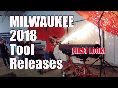 Top New Milwaukee Tools for 2018 - First Look Teaser!