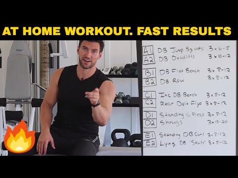 35-Min Full Body Workout Routine At Home For Men (Quick, Simple, & Deadly Effective)