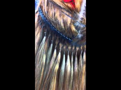 nối tóc bằng chỉ