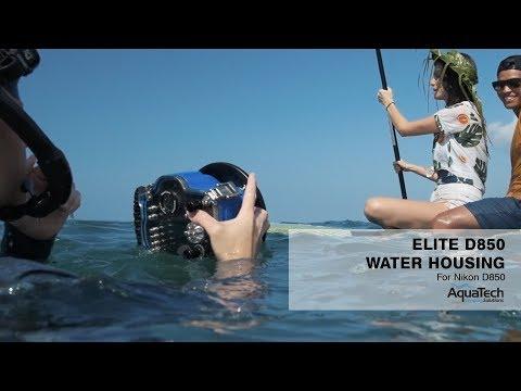 AquaTech Elite D850 Water Housing Showreel