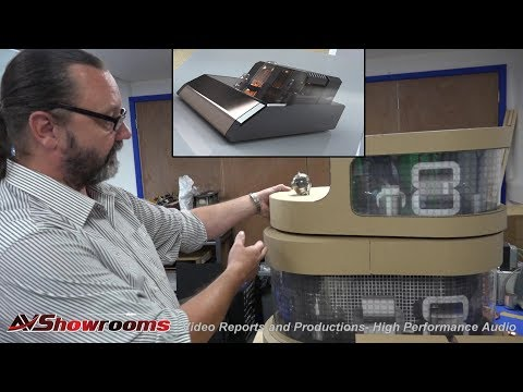 Audio Note Company Tour, Pt. 2, Meet lead designer Andy Grove, see the new Legend Amp