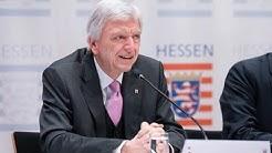 Hessens Ministerpräsident Volker Bouffier zu Corona in Hessen | Pressekonferenz 06.05.2020