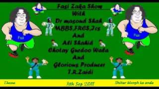 Fasi Zaka Show With Dr Masoud Shah,Ali& Tahreem Shiter murgh ka Anda 8th sep 2011 part 1.wmv