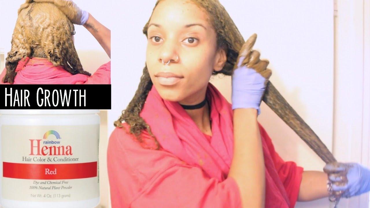 Henna Application For Hair Growth/Long Hair