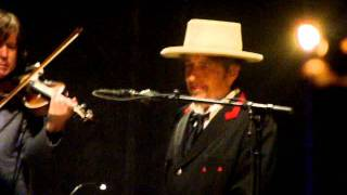 Bob Dylan in New Orleans 07-26-2011 Blowin In The Wind part 2