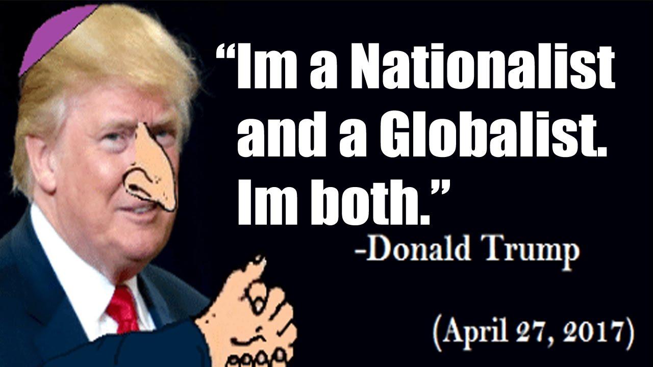 Image result for Trump's globalist administration