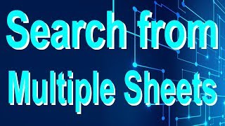Excel magic trick 75 bangla - Search from Multiple Sheets