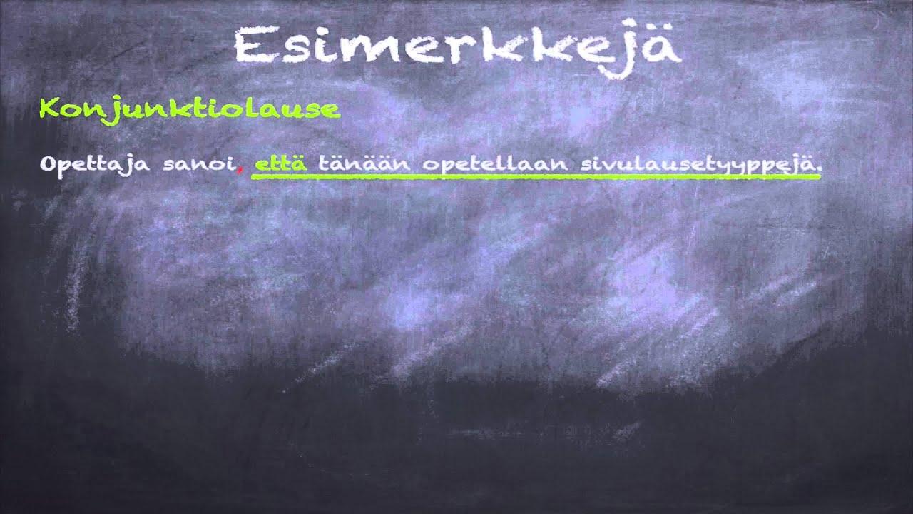 Sanatyypit Suomen Kieli