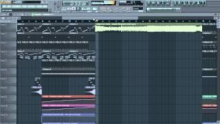 Deorro & J-Trick - Rambo (Hardwell Edit) FL Studio Remake {Renegade Agency} + FREE FLP