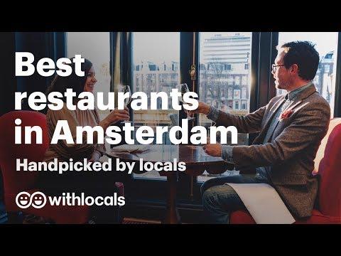 Best Restaurants In Amsterdam 🥂 Best Food Places In Amsterdam 🍲 By Amsterdam Locals!