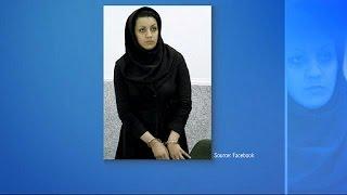 Iran da idam edilen kadın