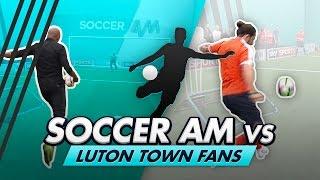 Volley Challenge LIVE | Soccer AM vs Luton Town Fans feat Rob Beckett & Cel Spellman