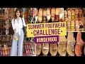 Summer Footwear Challenge #Under500   Ep05   Street Shopping   Fashion   Pinkvilla   Bollywood