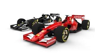 KeyShot Rendering : Ferrari SF-15 ( SolidWorks model )
