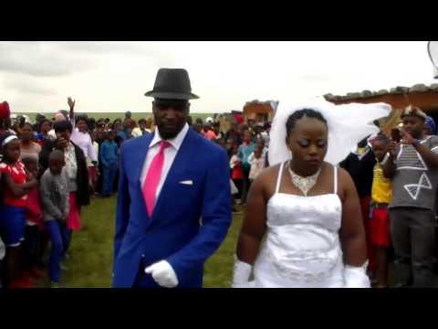 Wedding of Mr and Mrs Tshabalala