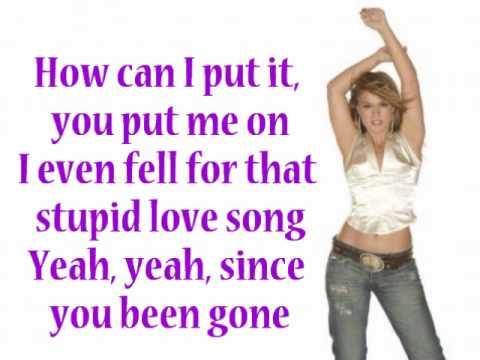Kelly Clarkson - Since U Been Gone [LYRICS]