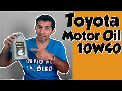 Toyota Motor Oil 10W40 API SN/CF
