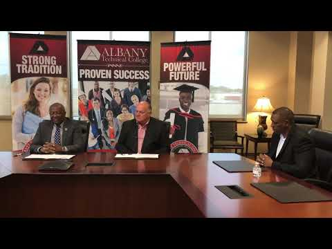 Albany Technical College Signs a Lease Agreement with SouthernAG Carriers