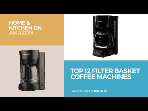 Top 12 Filter Basket Coffee Machines // Home & Kitchen On Amazon