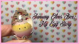 Watch Me Resin: Sophie and Toffee's January Elves Box   My Egg Story