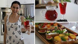 Холодный Чай с Базиликом - Быстрый Полезный Ланч - Рецепт от Эгине - Heghineh