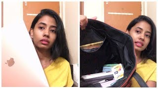 What's in my bag.?? Too many stuffs